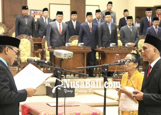 Nusabali.com - resmi-dilantik-sudiara-diplot-di-komisi-iii