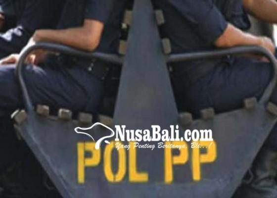 Nusabali.com - satpol-pp-siap-bongkar-bangunan-di-lokasi
