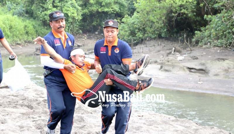 www.nusabali.com-bpbd-badung-gelar-simulasi-gempa-dan-tsunami-di-desa-cemagi