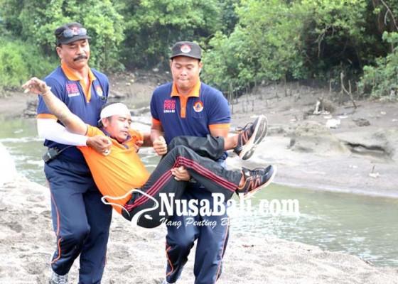 Nusabali.com - bpbd-badung-gelar-simulasi-gempa-dan-tsunami-di-desa-cemagi