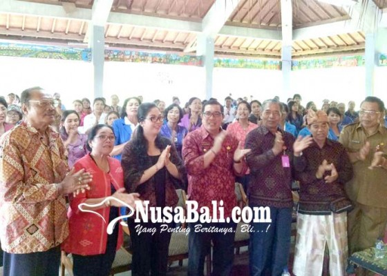 Nusabali.com - kuatkan-pendidikan-karakter-tkpaud-dewan-dan-klinik-pendidikan-gelar-workshop