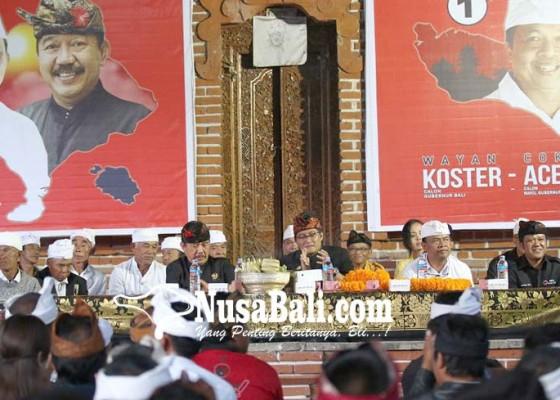 Nusabali.com - tiga-desa-adat-di-songan-tegaskan-satu-jalur