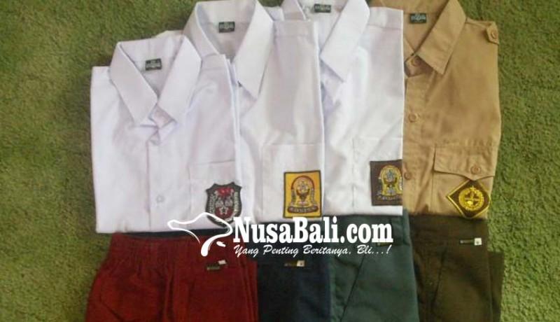 www.nusabali.com-disdikpora-tender-lebih-awal-seragam-siswa-baru
