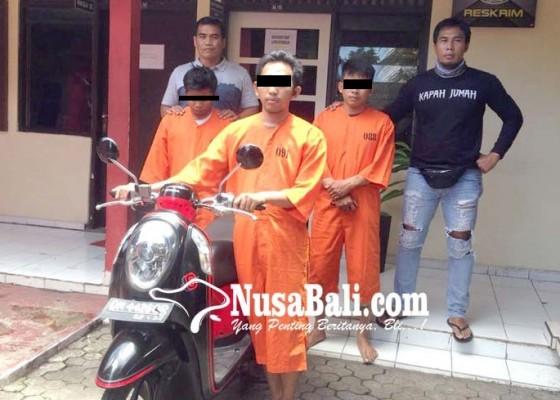 Nusabali.com - transaksi-motor-curian-tiga-sekawan-dijuk-polisi