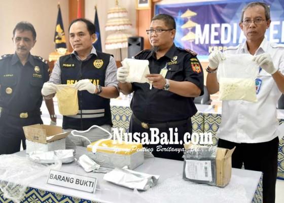 Nusabali.com - bea-cukai-gagalkan-penyelundupan-paket-narkoba