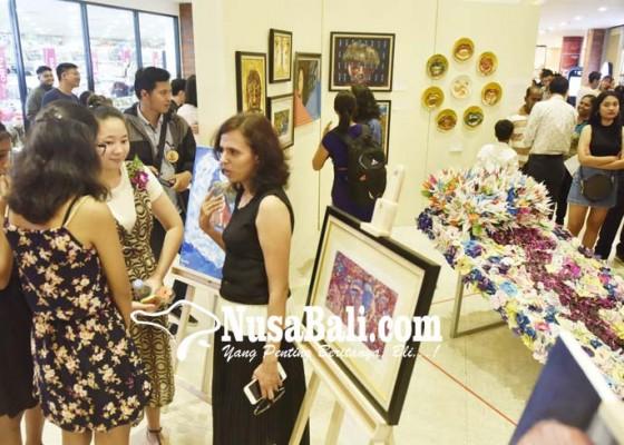 Nusabali.com - siswa-gmis-gelar-pameran-di-plaza-renon