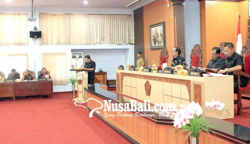 www.nusabali.com-dewan-sepakati-pembahasan-3-ranperda-usulan-eksekutif