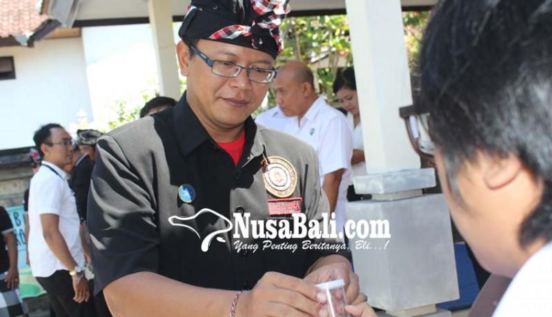 www.nusabali.com-puluhan-pecalang-klungkung-ditest-urine