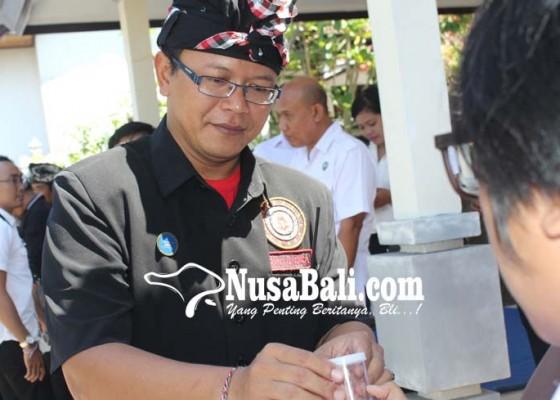 Nusabali.com - puluhan-pecalang-klungkung-ditest-urine