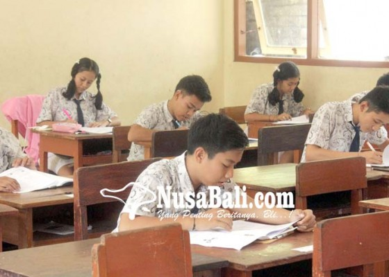 Nusabali.com - usbn-smp-13-siswa-berhenti