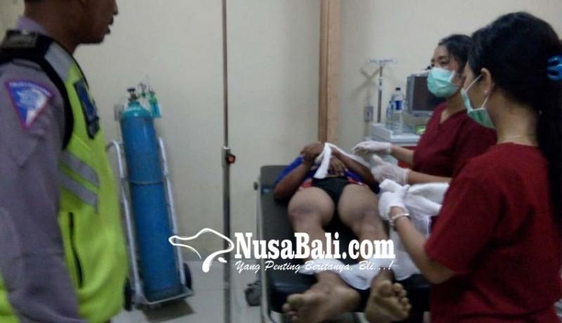 www.nusabali.com-oleng-ditikungan-pemotor-tewas-tabrak-truk-tangki