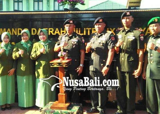 Nusabali.com - pangdam-resmikan-denkav-4simha-pasupati