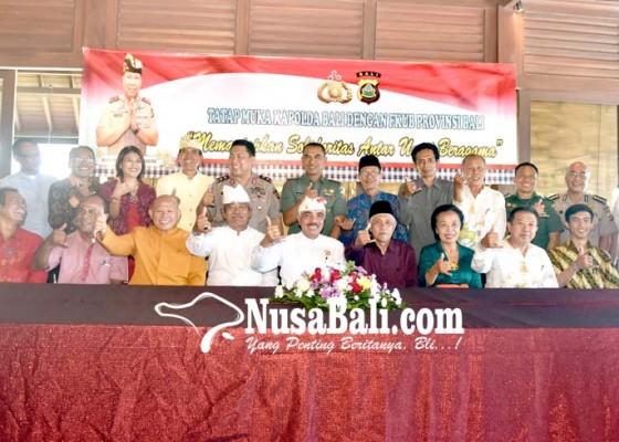 Nusabali.com - polda-bali-intenskan-pertemuan-dengan-tokoh-agama