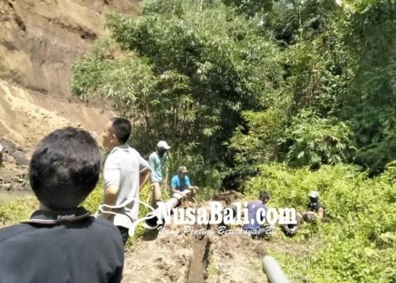 Nusabali.com - enam-sumber-mata-air-pdam-rusak-diterjang-longsor
