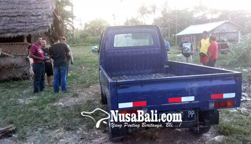 www.nusabali.com-pick-up-hilang-ditemukan-parkir-di-pantai
