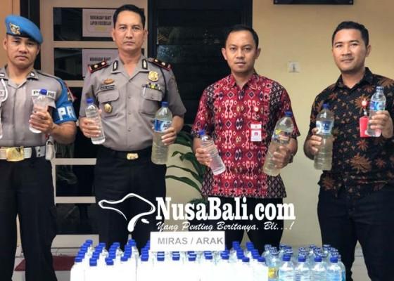 Nusabali.com - ratusan-botol-miras-oplosan-diamankan