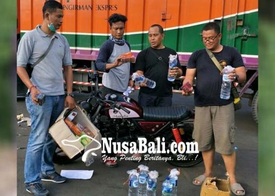Nusabali.com - diamankan-truk-angkut-obat-kuat-dan-motor-bodong