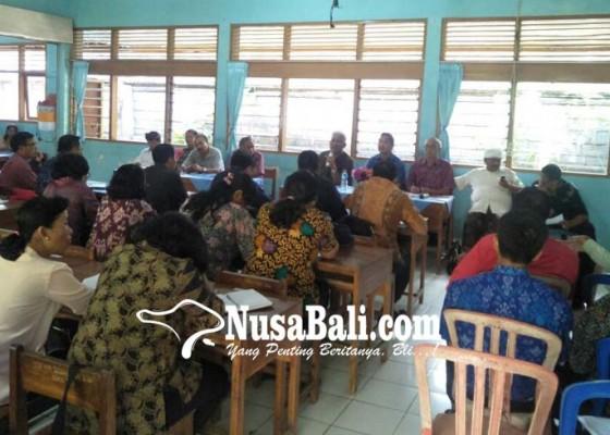 Nusabali.com - kadisdikpora-bangli-kumpulkan-seluruh-kasek