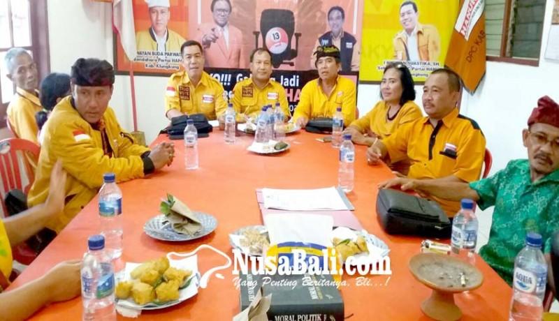 www.nusabali.com-hanura-target-7-kursi-di-dprd-klungkung