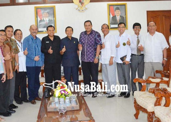 Nusabali.com - bertemu-asosiasi-gm-hotel-pastika-dorong-peningkatan-mutu-sdm