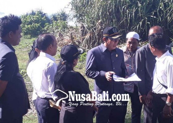 Nusabali.com - diduga-klaim-sepihak-dprd-cek-tanah-yeh-sumbul