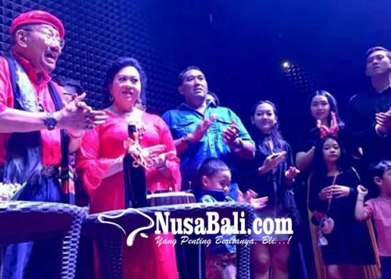 Nusabali.com - tjok-pemecutan-kampanye-kbs-ace-di-perayaan-ultah