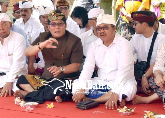 Nusabali.com - mlaspas-jineng-di-rumjab-bupati-badung