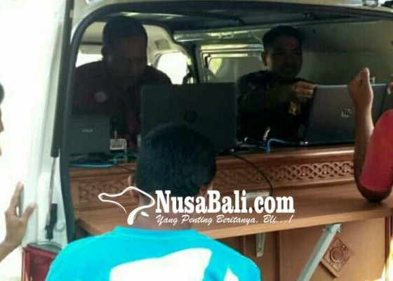 Nusabali.com - samsat-keliling-di-pemuteran
