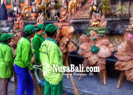 Nusabali.com - karangan-bunga-organik-pakau-warga