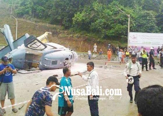 Nusabali.com - heli-jatuh-di-morowali-1-orang-tewas