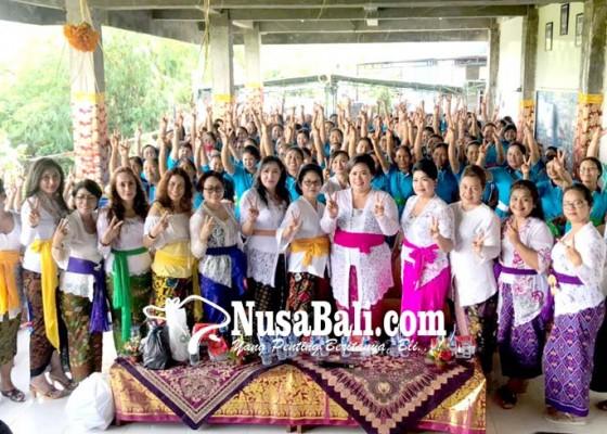 Nusabali.com - nariswari-dayu-sudikerta-kampanye-mantra-kerta-di-peguyangan-kangin