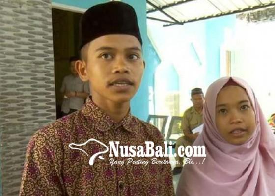 Nusabali.com - pasangan-siswa-smp-resmi-menikah