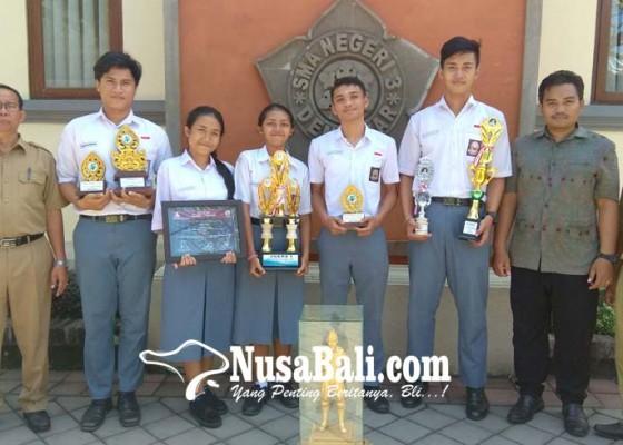 Nusabali.com - siswa-sman-3-denpasar-kembali-raih-prestasi-bidang-non-akademik