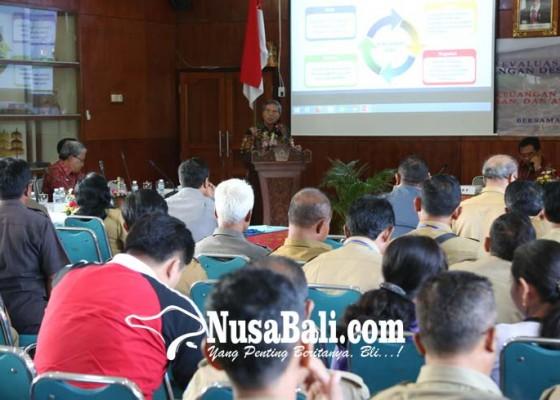 Nusabali.com - pemkab-gelar-workshop-evaluasi-tata-kelola-keuangan-desa