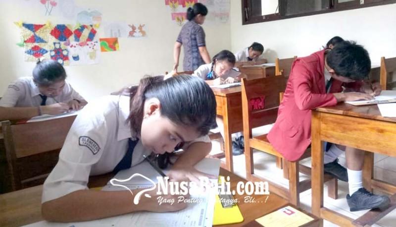 Nusabali Com Tujuh Siswa Smp Slb Di Tabanan Ikuti Un