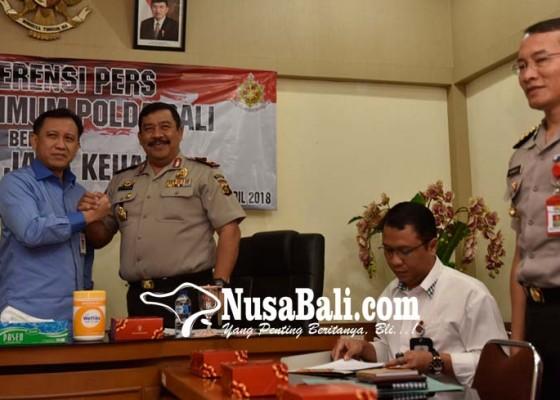 Nusabali.com - loloskan-54-transaksi-bodong-dirut-bpr-ditetapkan-tersangka