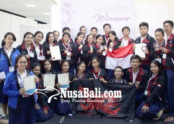 Nusabali.com - siswa-sman-3-denpasar-kembali-berjaya-di-ajang-internasional
