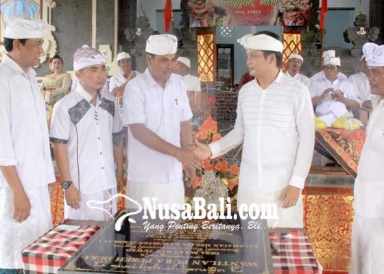 Nusabali.com - wakil-bupati-kembang-hartawan-ingin-wantilan-pura-puseh-tuwed-dimultifungsikan