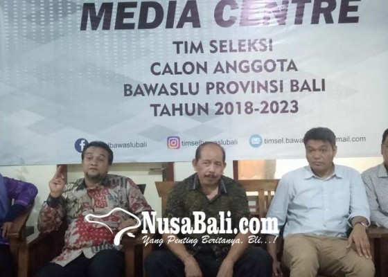 Nusabali.com - timsel-calon-anggota-bawaslu-bali-siap-jaring-kandidat-berkualitas
