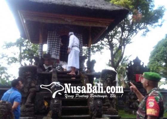 Nusabali.com - pratima-pura-dalem-luhur-penebel-kelod-digondol-bromocorah