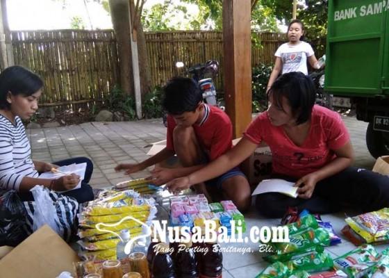 Nusabali.com - berdayakan-warga-miskin-beli-sembako-pakai-sampah