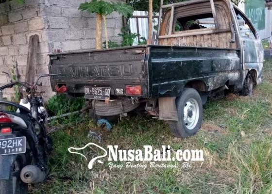 Nusabali.com - bengkel-las-terbakar-dua-ranmor-hangus