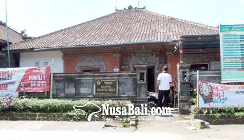 www.nusabali.com-kantor-perbekel-senganan-digembok