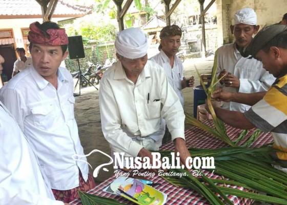 Nusabali.com - serati-di-tiga-desa-pakraman-ikuti-pelatihan-banten-pacaruan
