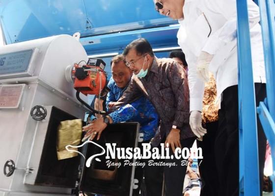 Nusabali.com - wapres-musnahkan-narkotika