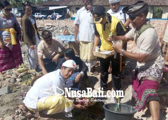 Nusabali.com - asrama-polres-bangli-mulai-dikerjakan