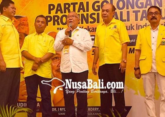 Nusabali.com - golkar-gaet-elite-pdip-dan-demokrat