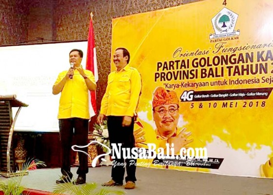 Nusabali.com - golkar-instruksi-menangkan-suamba-negara