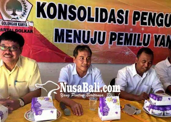 Nusabali.com - kawal-pilgub-golkar-karangasem-latih-187-saksi