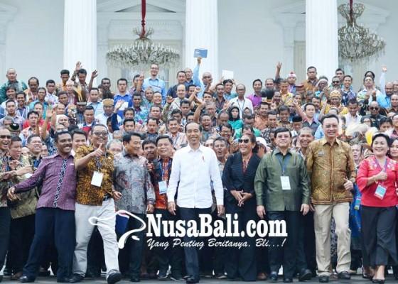 Nusabali.com - presiden-menerima-nelayan